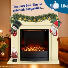 enter at https://a.pgtb.me/lS8C9g Facebook Giveaway - Inspire Electric Fireplace