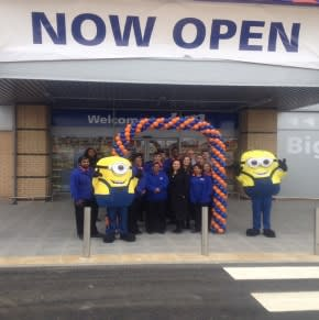 The PROUD B&M Team outside South Ruislip.