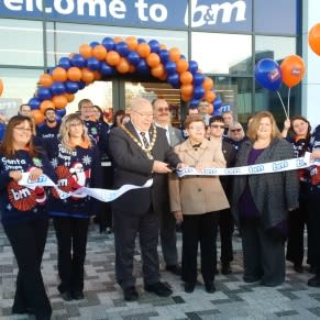 The store was officially opened by Mayor of King's Lynn, Councillor David Whitby.