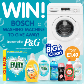Win a Brand New Bosch Washing Machine!