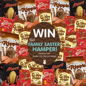 Win a Chocolate Filled Family Easter Hamper
