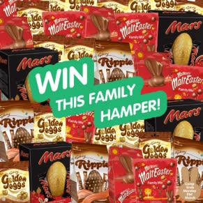 More Chocolate to be Won in our Win it BIG Competition