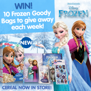 B&M's Big Giveaway - 10 Disney Frozen Goody Bags to Win Each Week