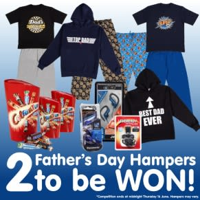 WINNER ANNOUNCEMENT - Father's Day Hamper Competition