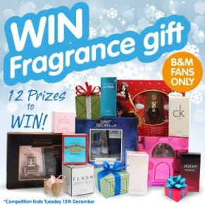 Winners of the B&M Fragrance Giveaway!