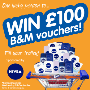 B&M's BIG Giveaway - Winner of the £100 B&M Voucher