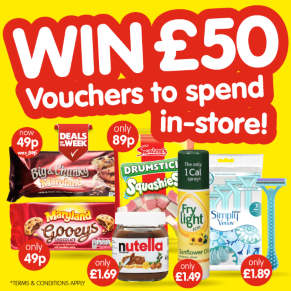 WINNER ANNOUNCEMENT - £50 B&M Voucher Deals of the Week Competition