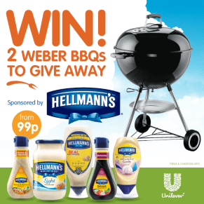 B&M's Big Giveaway - 2 Weber BBQs to Win!