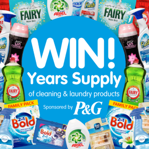 B&M's Big Giveaway - Win a Year's Supply of P&G Cleaning Products