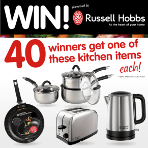 B&M's BIG Giveaway - Winner of the Russell Hobbs Competition