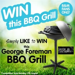 B&M's BIG Giveaway - Winner of the BBQ Grill