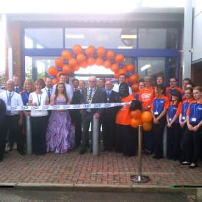 B&M Home Store with Garden Centre opening. We have opened our newest Homestore  in Amesbury this morning at 9.00am. The Store was open by the lord Mayor of Amesbury, with the Amesbury Carnival Princess in attendance as well. Our chosen charity was Homestart.