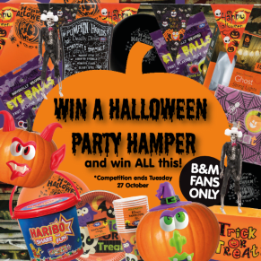 B&M's BIG Giveaway - Win a Halloween Party Hamper