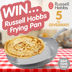 Winners of the Russell Hobbs Frying Pans