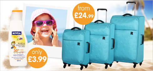Big savings on holiday Shop Essentials at B&M Stores.