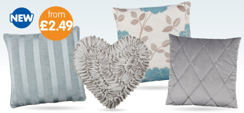 Save on Cushions at B&M.