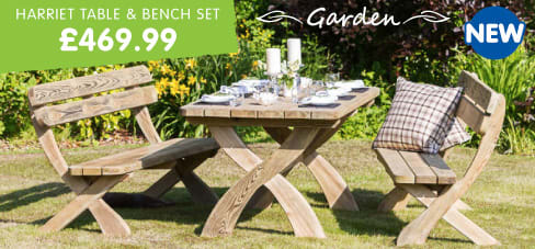 Save on Garden Furniture at B&M.