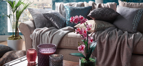 Save on Soft Furnishings at B&M.