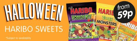 B&M: Halloween Sweets for Trick or Treat