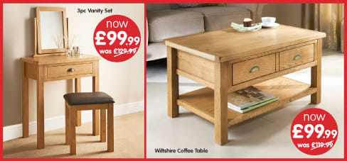 Save in the Furniture Sale at B&M.
