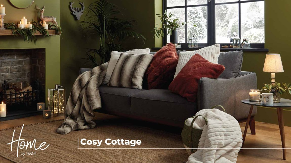 Cosy Cottage at B&M.