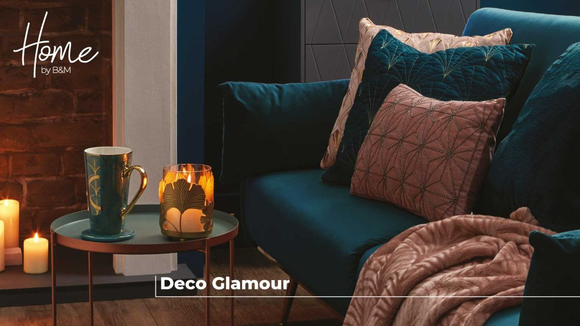 Deco Glamour at B&M.
