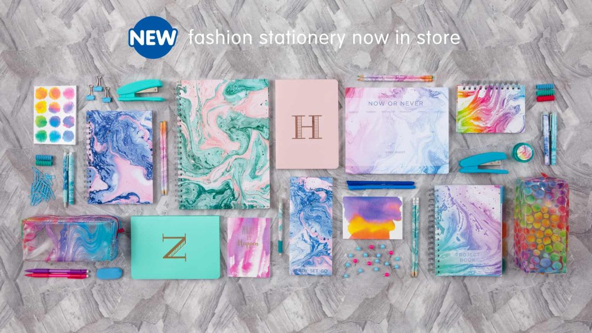 Save on Fashion Stationery at B&M.