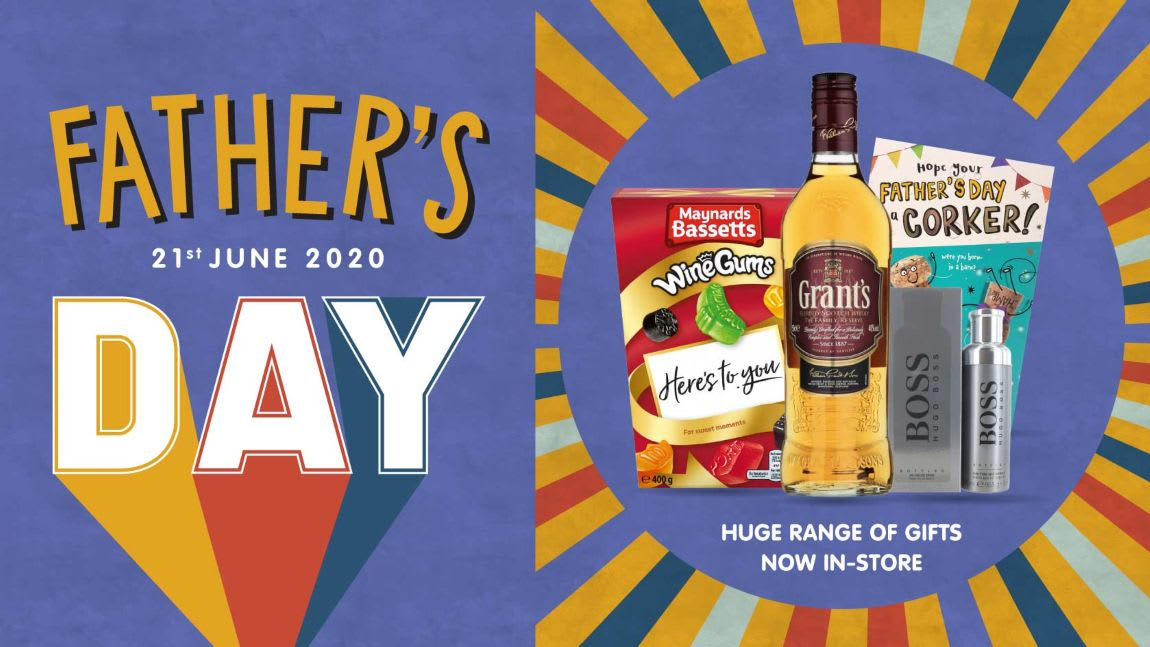 Save on Father's Day gifts at B&M.
