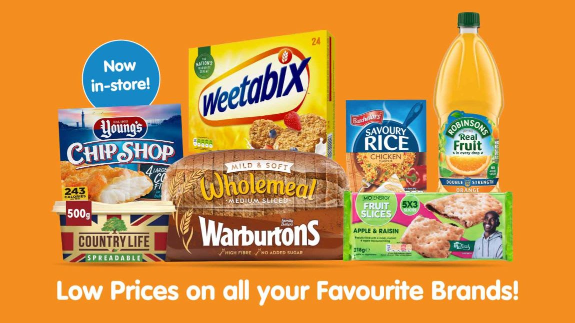 Save on Food and drink at B&M.