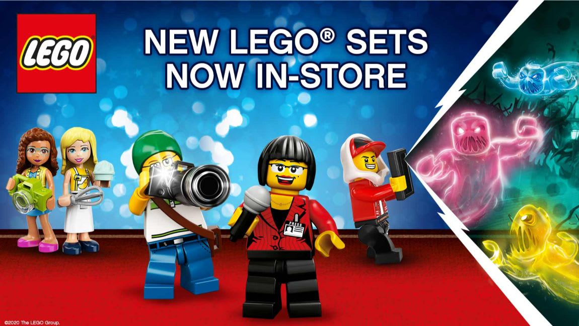New LEGO sets in store at B&M.