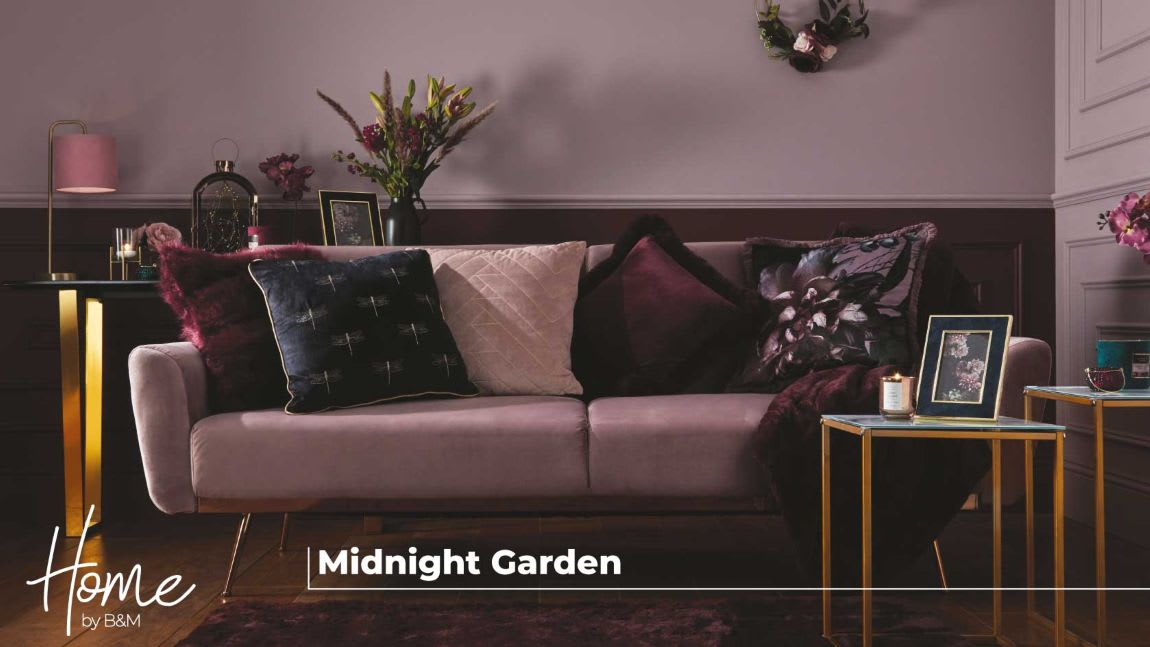 Midnight Garden range now in-store at B&M.