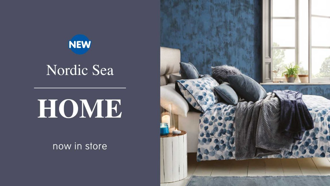 New Nordic Sea Collection now in store at B&M.
