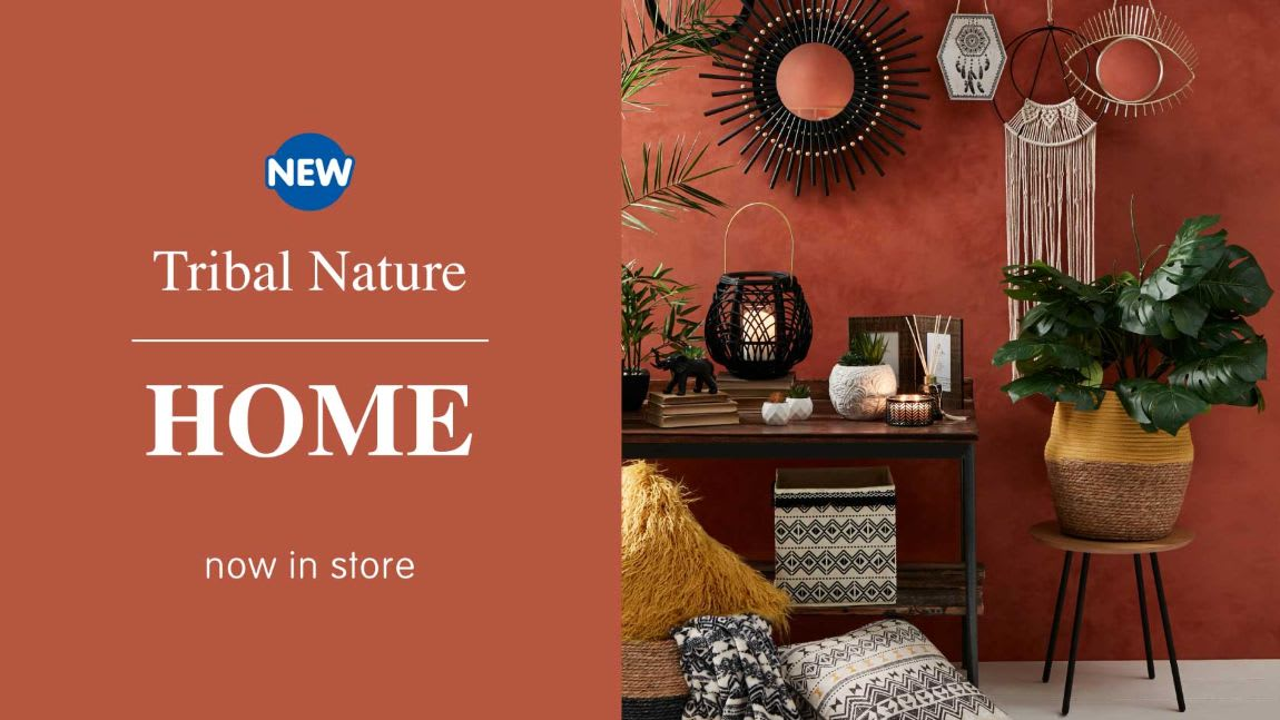 New Tribal Nature range at B&M.