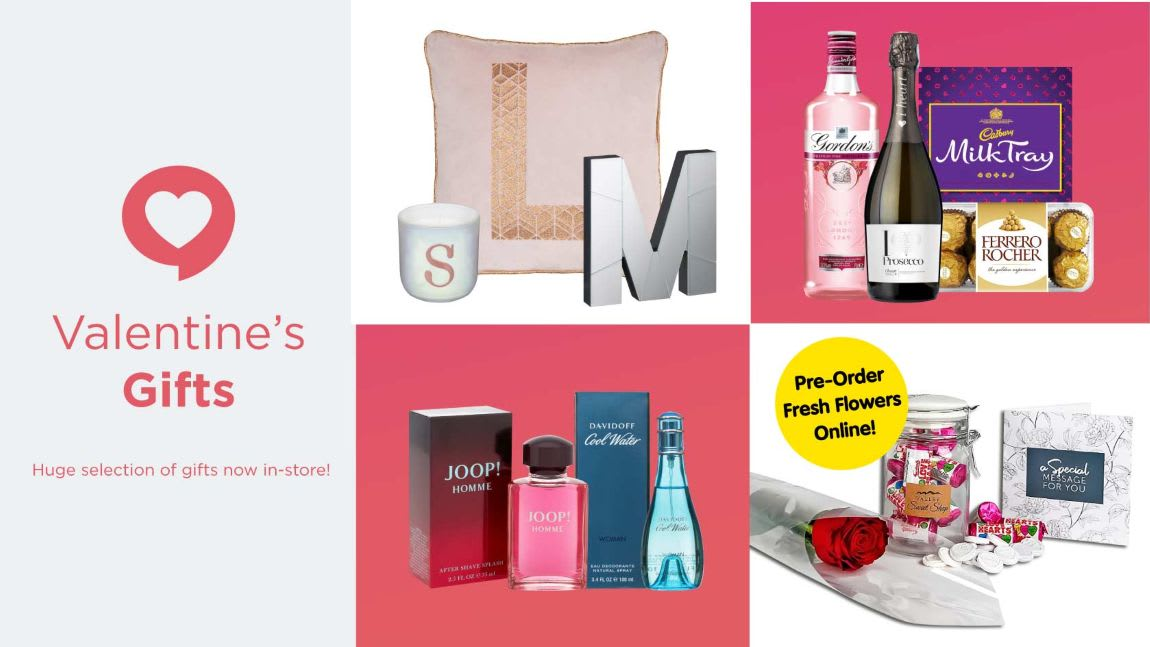 Save on Valentine's Gifts at B&M.