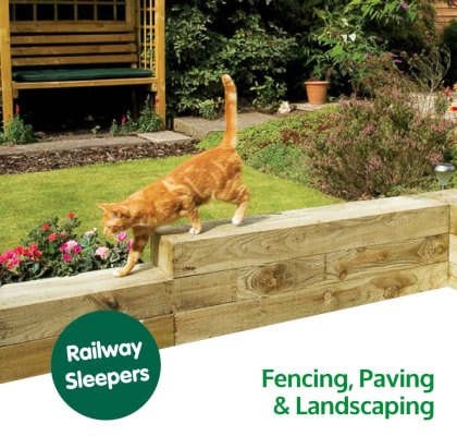 Save on Garden Fencing and Landscaping at B&M.