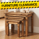 Save in the Furniture Clearance at B&M.
