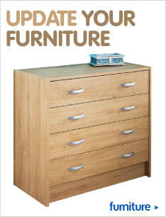 Save and update your home Furniture from B&M.
