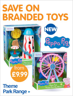 Save on Peppa Pig Theme Park Range now instore at B&M.