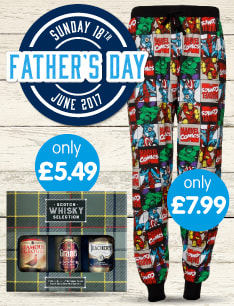 Save on Father's Day at B&M.
