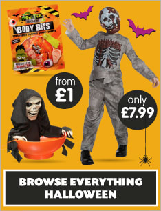 Save on Halloween at B&M.