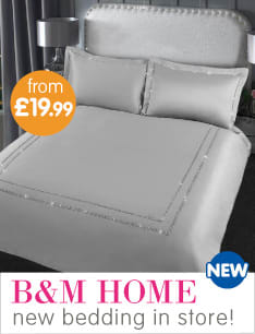 New Bedding now in store at B&M.