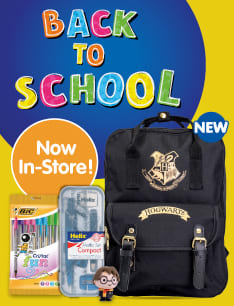 Save on Back to School with B&M.
