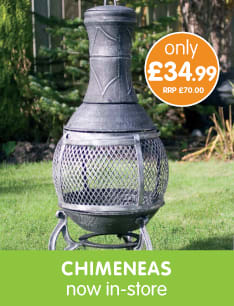 Save on Chimeneas at B&M