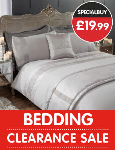 Bedding Sale at B&M.