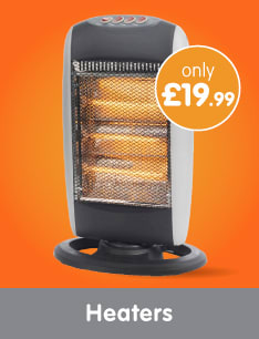 Save on Heaters at B&M.