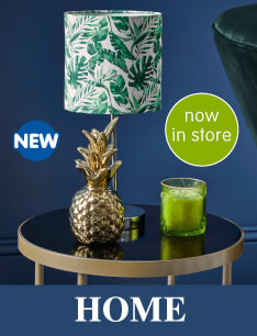 New range of Home Accessories at B&M.