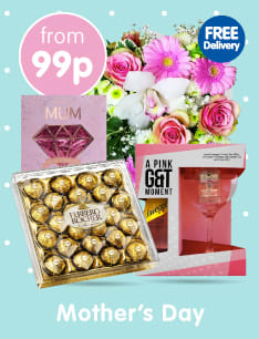 Save on Mother's Day Gifts at B&M.