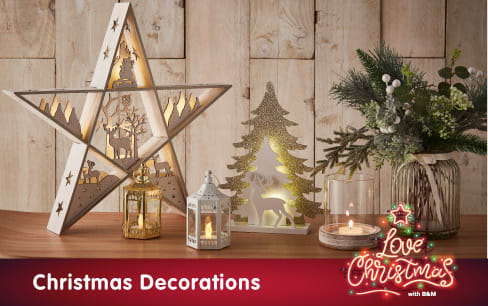 Christmas Range now in store at B&M.