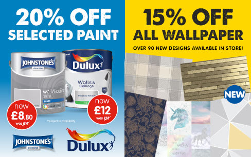 Save in the B&M DIY event in store.