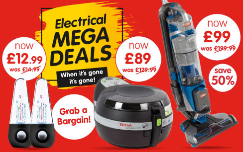 Save on Electrical Mega Deals at B&M.